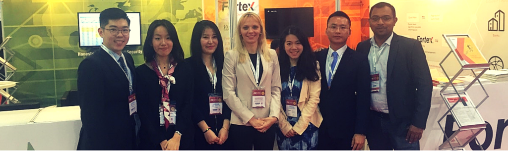 Fortex team at the iFX Expo