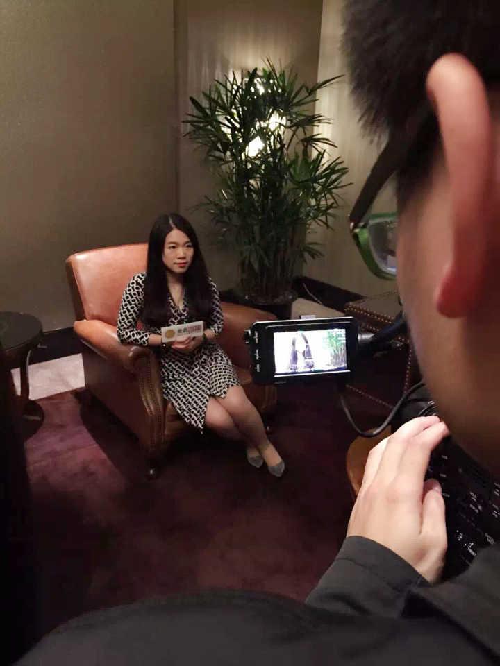 彭韵程小姐接受专访