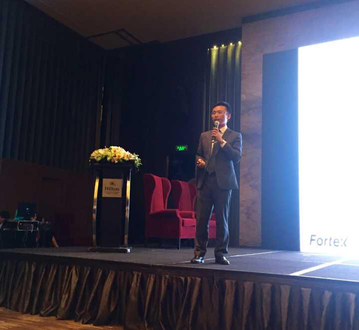植宇先生很荣幸发表演讲