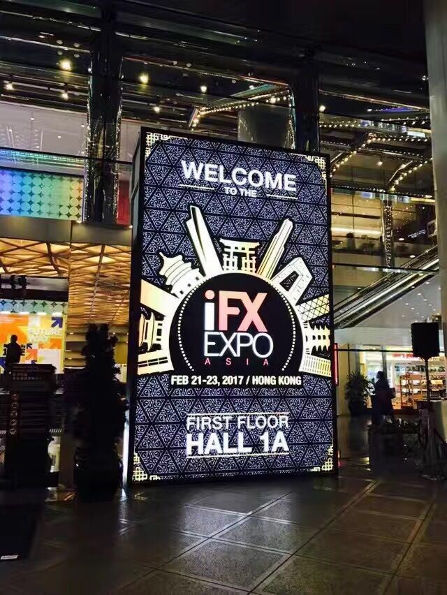 Fortex at iFX EXPO Asia 2017 - Hong Kong