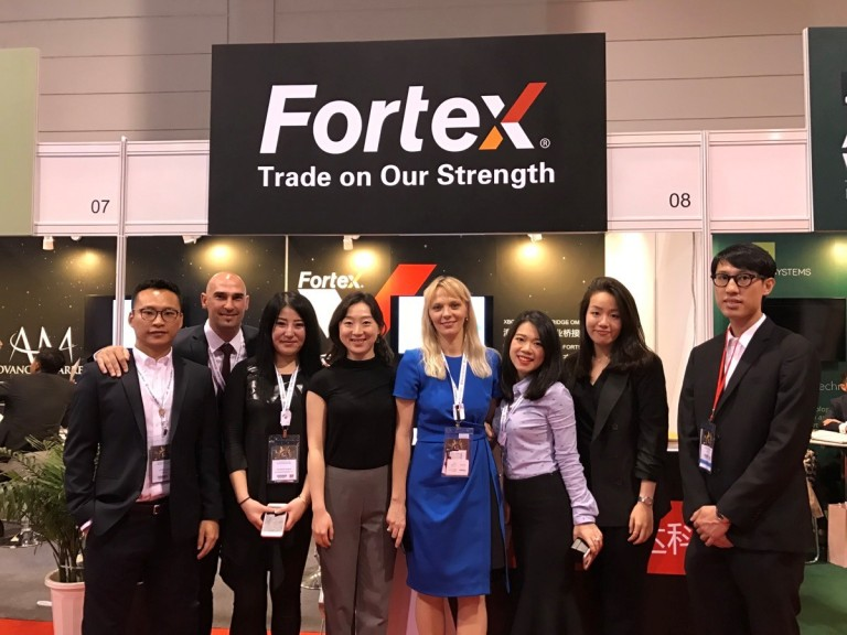 Fortex at iFX EXPO Asia 2017 - Fortex Team