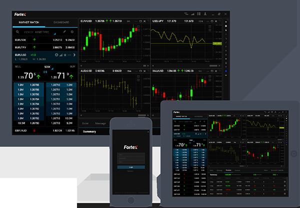 Fortex 6程序运行在 Windows、Linux和MacOS操作系统。Fortex 6 Web是一 个提供了完全的互动体验,可在任何设备上运行,不需 下载或安装单独的软件的HTML5浏览器。